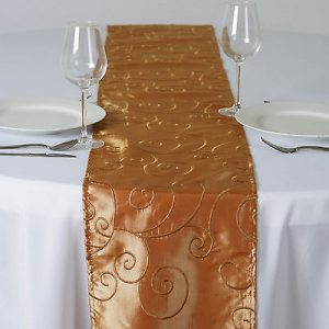 Gold Table Runner-12x108