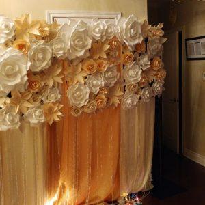 Flower Wall Backdrop