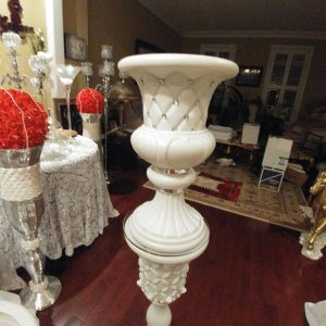 Decorative Crystal Studded Column