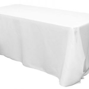Polyester 90x156 Rectangle Tablecloth