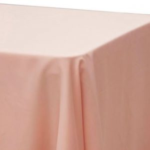 Blush Lamour Satin Rectangle
